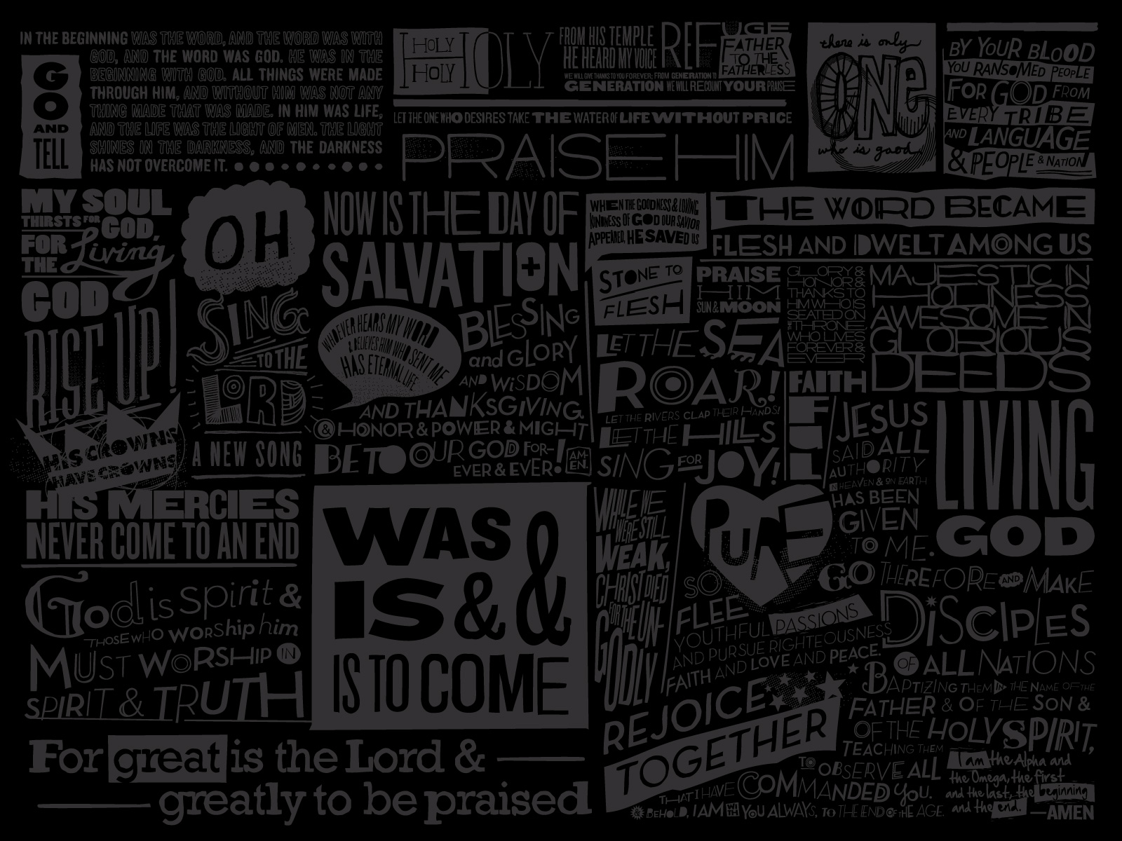 Scripture Wallpapers
